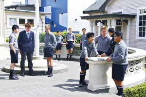 General promo images shot in and around the school of students.   Image by Gary Rodgers / Magnum Images   www.magnum-images.co.nz