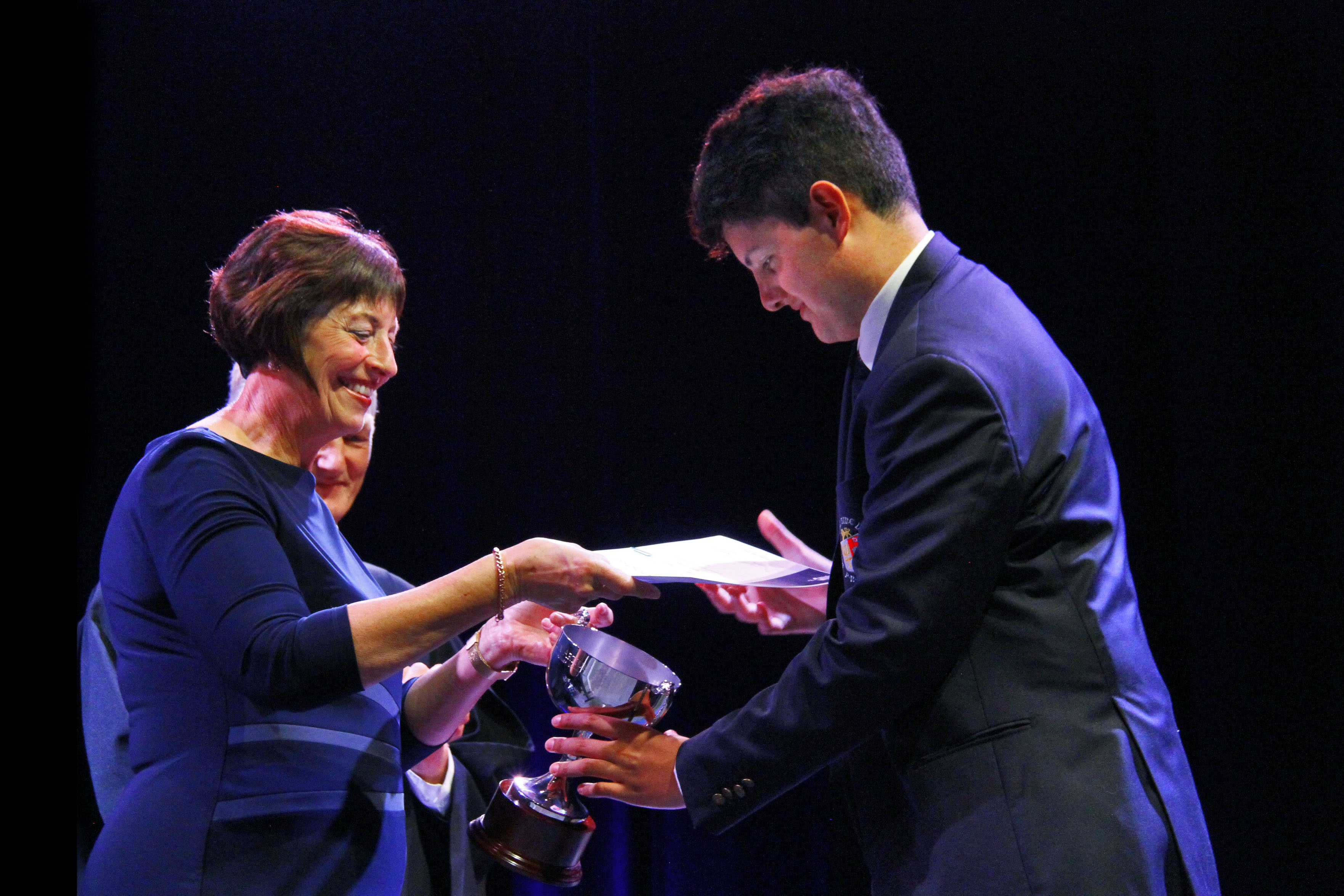 Carson Taare, Runnerup to Dux Artium 2019PNBHS 2019 Full School Prizegiving, Arena 1, Palmerston North Image by Gary Rodgers / Magnum Images  www.magnum-images.co.nz