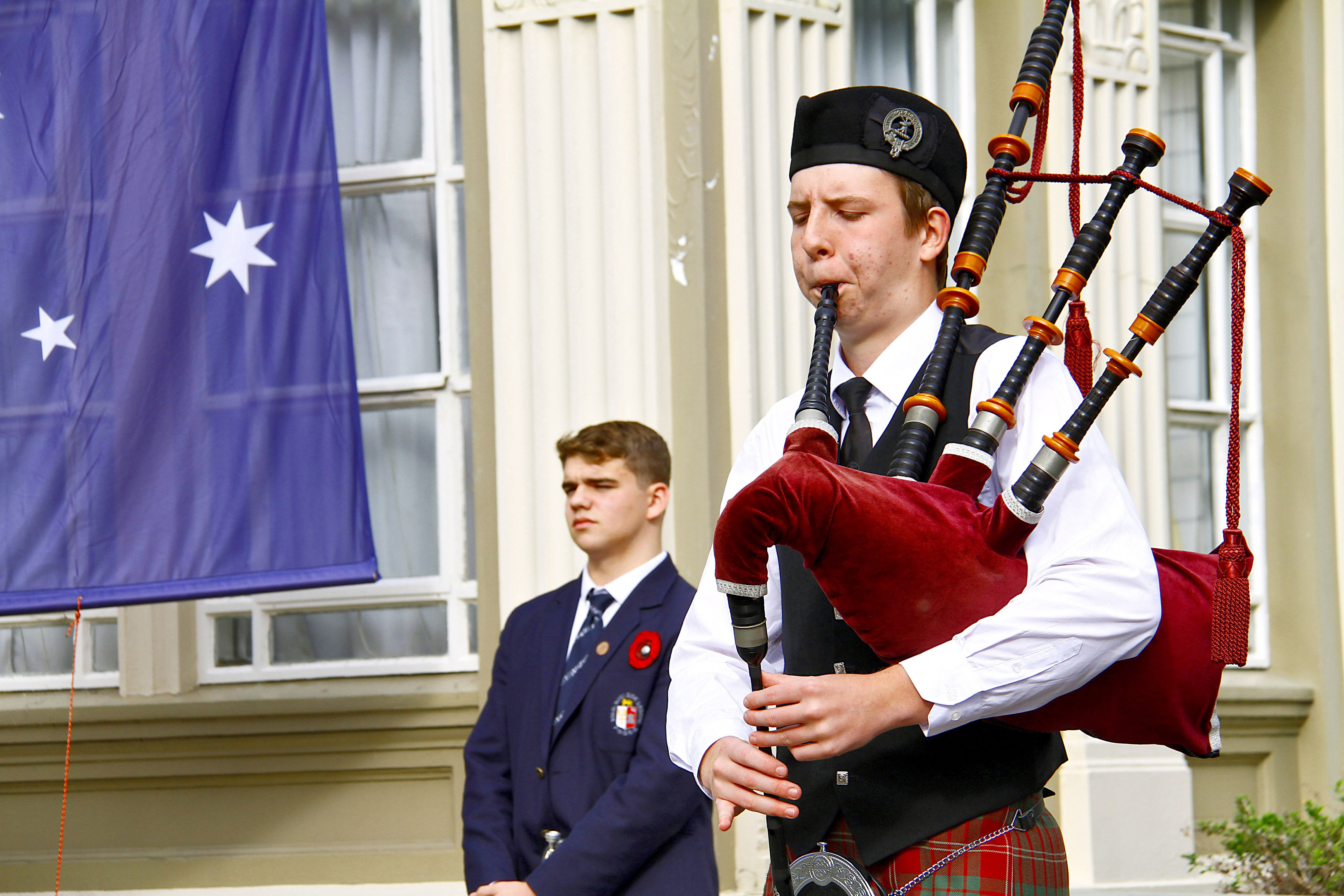 PNBHS 2019 School ANZAC Service