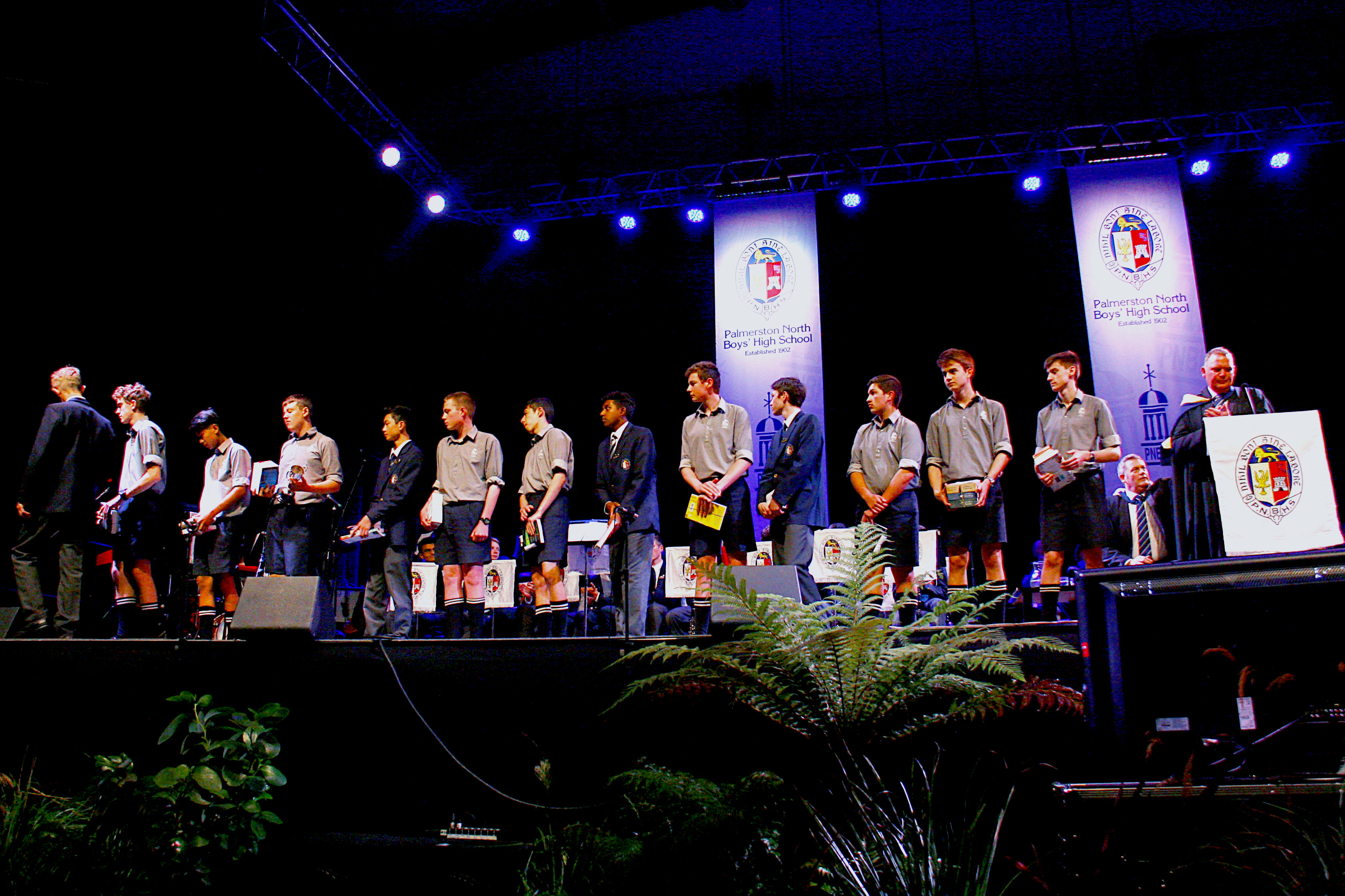 PNBHS 2019 Full School Prizegiving, Arena 1, Palmerston North Image by Gary Rodgers / Magnum Images  www.magnum-images.co.nz