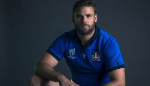 SAKAI, JAPAN - SEPTEMBER 16: Dean Budd of Italy poses for a portrait during the Italy Rugby World Cup 2019 squad photo call on September 16, 2019 in Sakai, Osaka, Japan. (Photo by Chris Hyde - World Rugby/World Rugby via Getty Images)