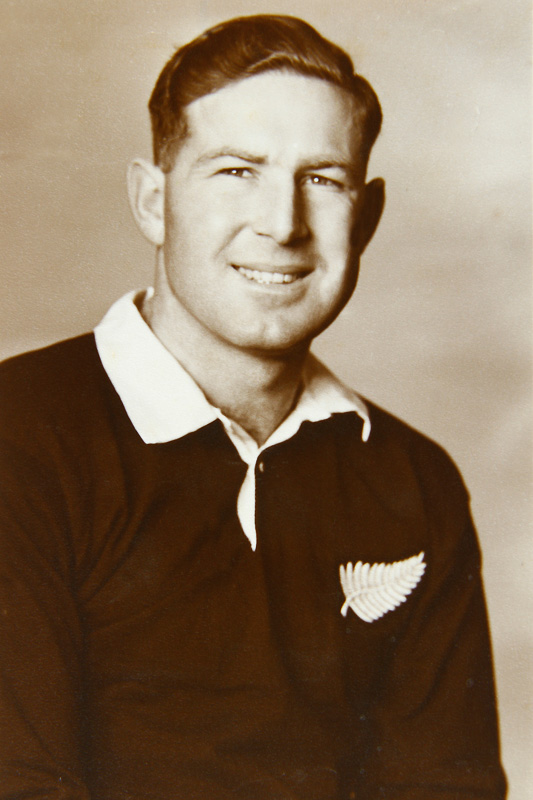 Bruce Turner, Old Boy of the school 1945-1948. Former Manawatu and NZ representative hockey player, playing for NZ for 12 years from 1950, competing at two Olympic Games including the 1960 Rome Olympics as Captain coming 5th before going on to be a Selector and Coach the National team. Was selected for the 1958 Indian Captain's World XI and was rated by the Indians as the finest right half in the world.    Image duplication & restoration by Gary Rodgers / Magnum Images   www.magnum-images.co.nz